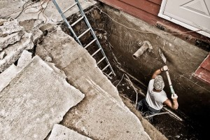 repairing a foundation in Brookfield